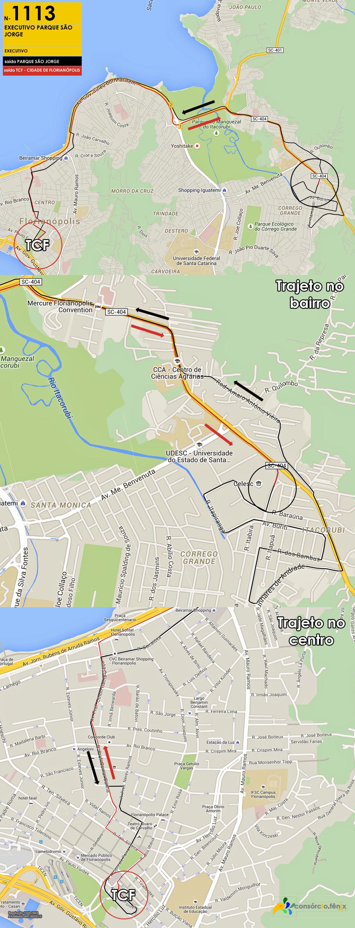 Horario de Onibus Executivo Parque São Jorge