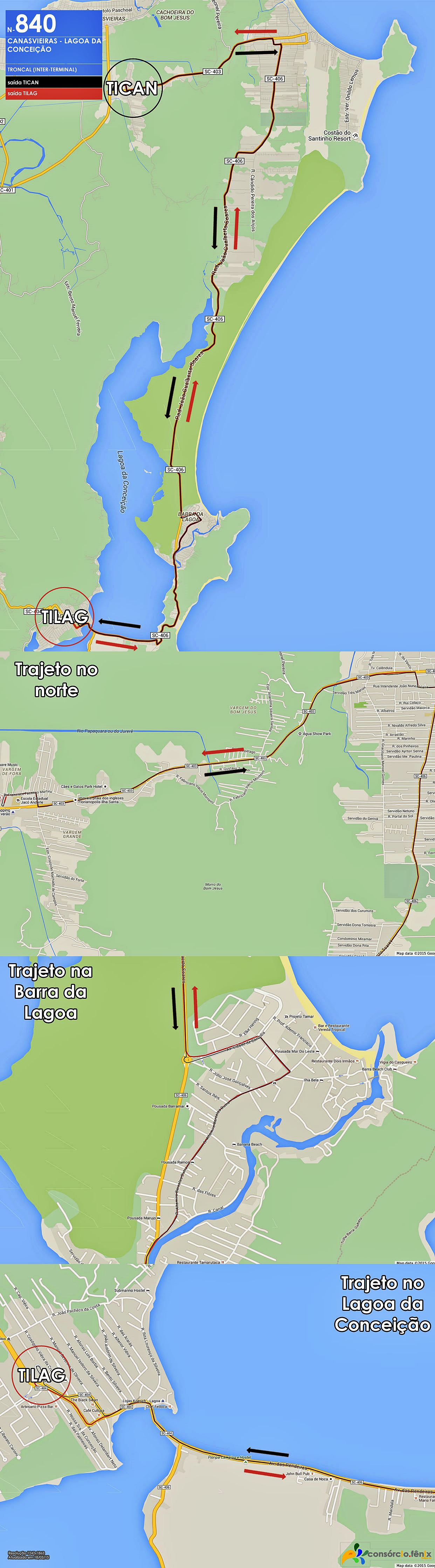 Horario de Onibus TICAN - TILAG via Cidade da Barra